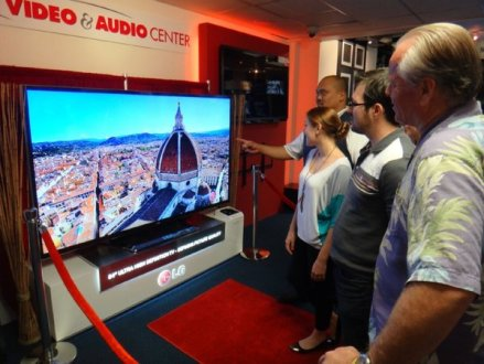 New Ultra HDTVs arrive in stores
