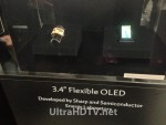 Sharp Flexible OLED