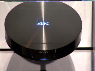 The Sony 4K device at CES
