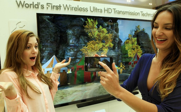 Wireless Ultra HD Transmission Technology Unveiled by LG