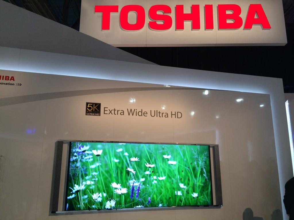 Toshiba 5K TV