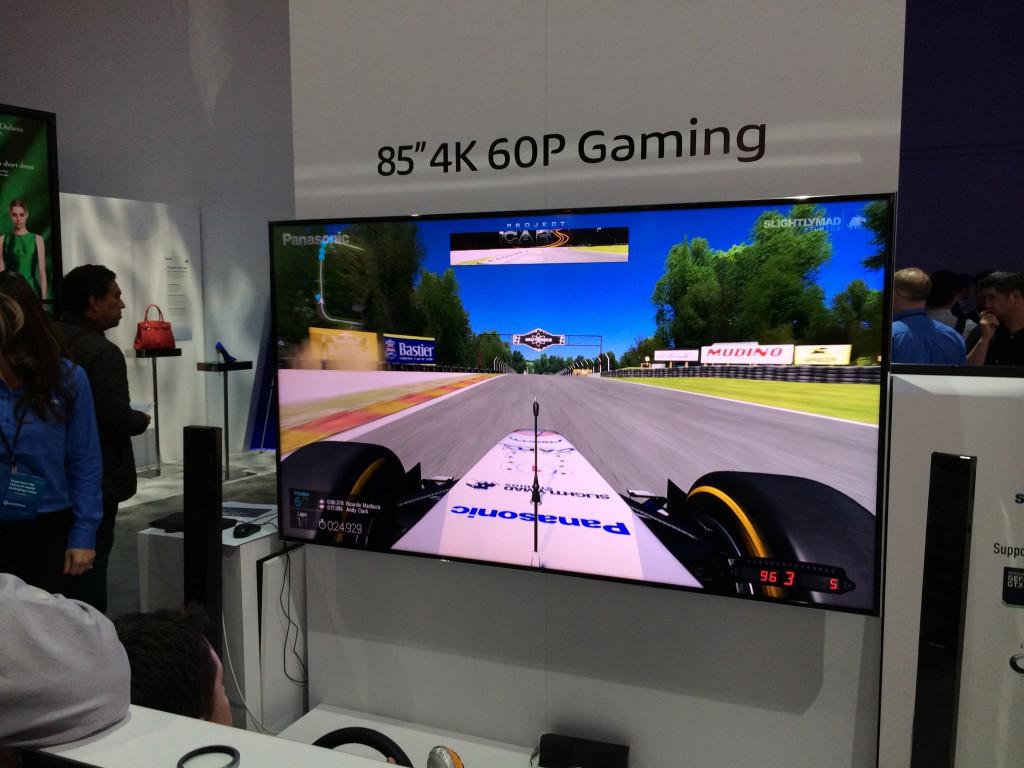Panasonic 4K Ultra HD Gaming