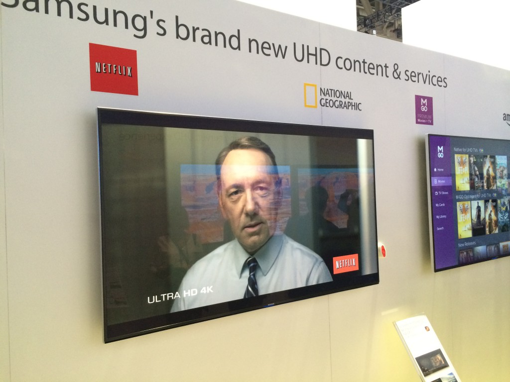 Samsung and Netflix Ultra HD at CES 2014