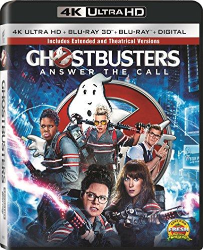 Ghostbusters (2016) - 4K UHD/3D Blu-ray/UV Combo