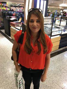 Amit's mother, Maria Teresa Medina