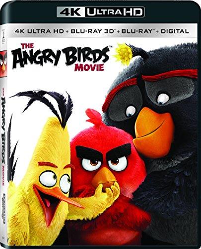 The Angry Birds Movie (4K UHD + Blu-ray 3D + Blu-ray + UV Combo)