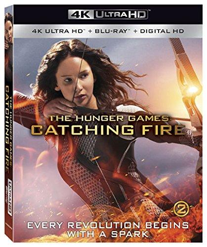 The Hunger Games: Catching Fire [4K Ultra HD + Blu-ray + Digital HD]